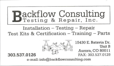 BackflowConsulting